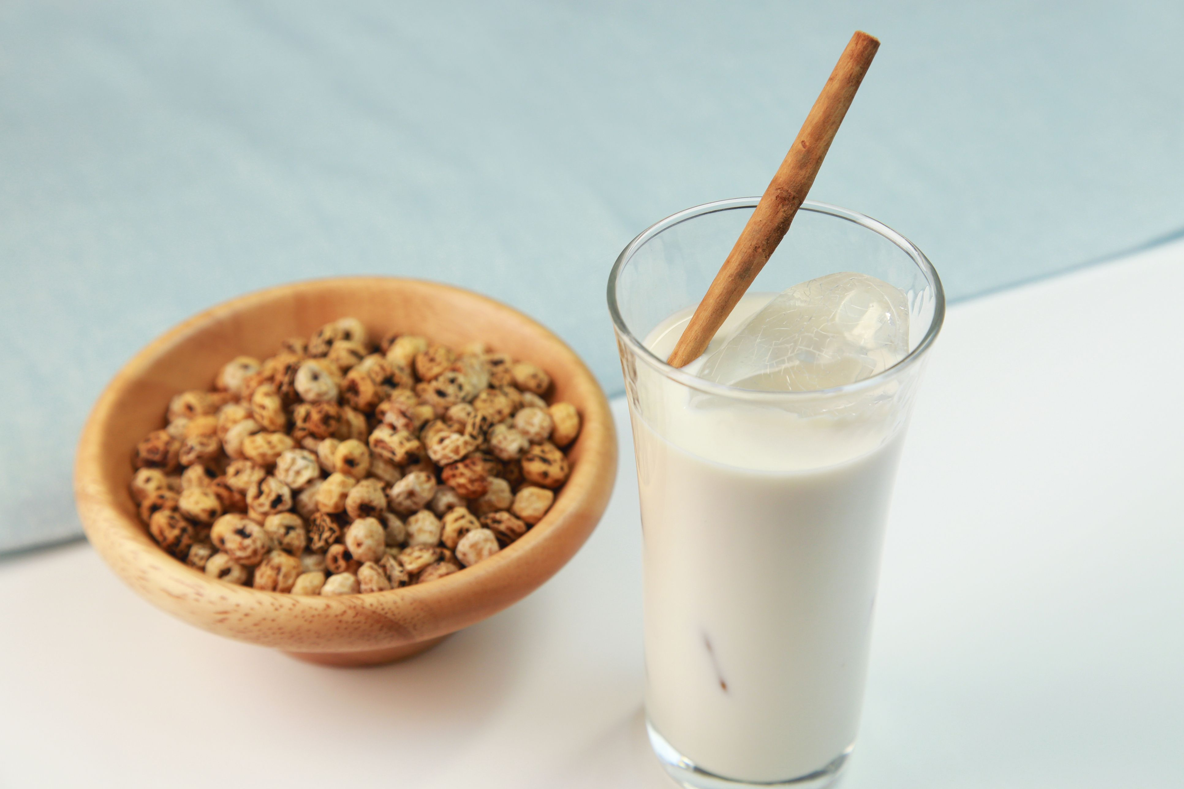 How to make tiger nut date and coconut milk
