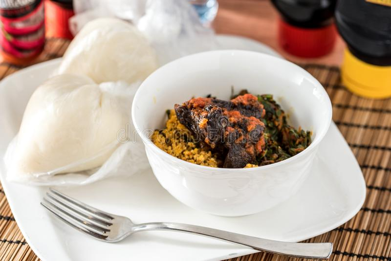 how to prepare egusi soup with waterleaf
