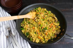 how to cook fried rice without frying