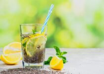 Chia seeds and lemon water for weight loss